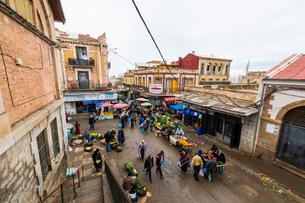 Spanish architecture in Tlemcen, Algeria, North Africa, Africaの写真素材 [FYI03794006]