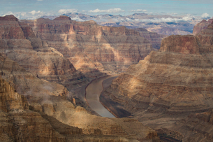 West Rim, Grand Canyon and Colorado River, UNESCO World Heritage Site, Arizona, United States of Ameの写真素材 [FYI03794315]