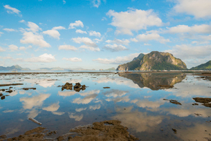 Bacuit Bay, El Nido, Palawan, Mimaropa, Philippines, Southeast Asia, Asiaの写真素材 [FYI03794500]