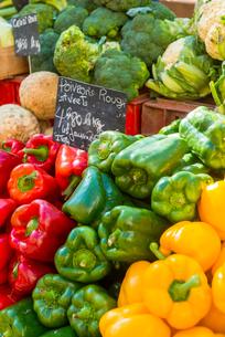 Market, Aix en Provence, Bouches du Rhone, Provence, Provence-Alpes-Cote d'Azur, France, Europeの写真素材 [FYI03794681]