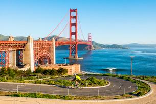 Golden Gate Bridge, San Francisco, California, United States of America, North Americaの写真素材 [FYI03794849]
