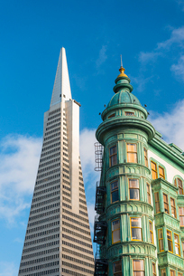 Trans America Pyramid, San Francisco, California, United States of America, North Americaの写真素材 [FYI03794853]