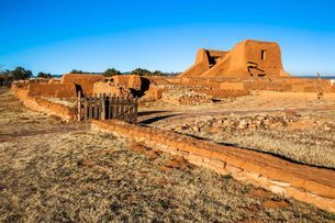 Pecos National Historical Park, New Mexico, United States of America, North Americaの写真素材 [FYI03794860]