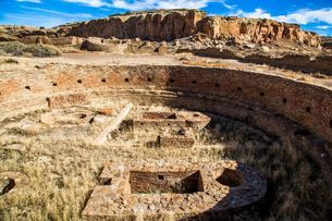 Pecos National Historical Park, New Mexico, United States of America, North Americaの写真素材 [FYI03794867]