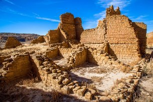 Pecos National Historical Park, New Mexico, United States of America, North Americaの写真素材 [FYI03794870]