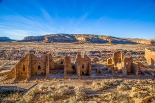 Pecos National Historical Park, New Mexico, United States of America, North Americaの写真素材 [FYI03794876]