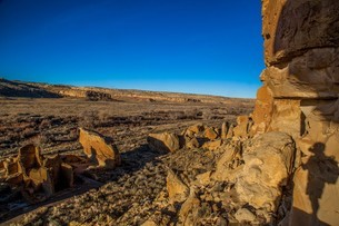 Pecos National Historical Park, New Mexico, United States of America, North Americaの写真素材 [FYI03794877]