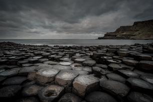 Giant's Causeway, UNESCO World Heritage Site, County Antrim, Northern Ireland, United Kingdom, Europの写真素材 [FYI03795292]