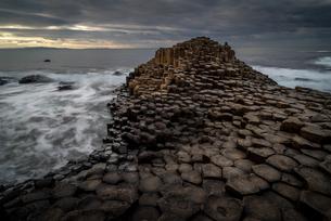 Giant's Causeway, UNESCO World Heritage Site, County Antrim, Northern Ireland, United Kingdom, Europの写真素材 [FYI03795293]