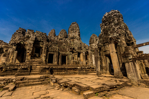 Angkor Wat temples, Angkor, UNESCO World Heritage Site, Siem Reap, Cambodia, Indochina, Southeast Asの写真素材 [FYI03795619]