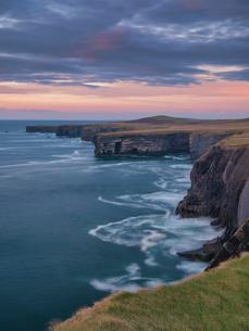 Loop Head, County Clare, Munster, Republic of Ireland, Europeの写真素材 [FYI03795981]