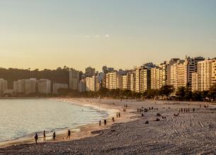 Icarai Beach and Neighbourhood, Niteroi, State of Rio de Janeiro, Brazil, South Americaの写真素材 [FYI03796268]