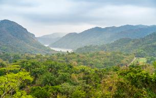 El Nicho valley in the Sierra del Escambray mountains not far from Cienfuegos, Cuba, West Indies, Caの写真素材 [FYI03797046]