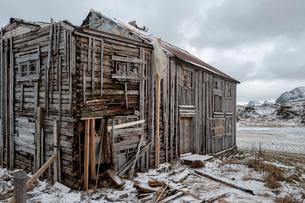Skagsanden beach, Lofoten, Nordland, Arctic, Norway, Europeの写真素材 [FYI03797143]