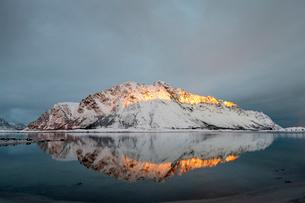 Lofoten, Nordland, Arctic, Norway, Europeの写真素材 [FYI03797145]