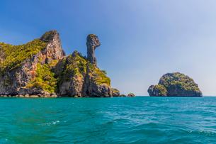 Chicken Island in Ao Nang, Krabi, Thailand, Southeast Asia, Asiaの写真素材 [FYI03797378]