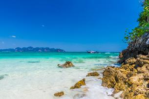 Tup Island in Ao Nang, Krabi, Thailand, Southeast Asia, Asiaの写真素材 [FYI03797396]