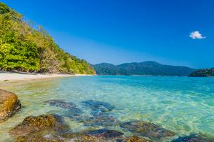 Ko Rawi Island in Tarutao National Marine Park, Thailand, Southeast Asia, Asiaの写真素材 [FYI03797425]