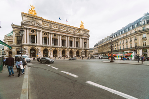 Paris Opera House, Paris, France, Europeの写真素材 [FYI03797667]