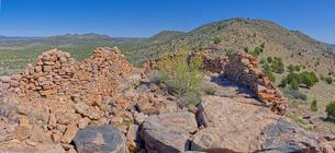 Ancient Ruins on Sullivan Butte in Chino Valley, Arizona, United States of America, North Americaの写真素材 [FYI03798208]