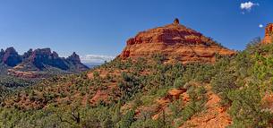 Western Mitten Ridge viewed from the Hangover Trail, Sedona, Arizona, United States of America, Nortの写真素材 [FYI03798211]