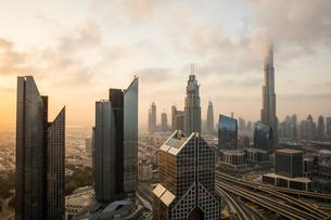 Burj Khalifa, Dubai, United Arab Emirates, Middle Eastの写真素材 [FYI03798589]