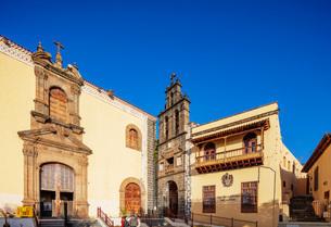 Catholic Church of San Augustin, La Orotava, Tenerife, Canary Islands, Spain, Atlantic, Europeの写真素材 [FYI03798668]