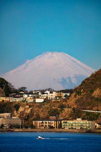 Mount Fuji, 3776m, UNESCO World Heritage Site, Kanagawa Prefecture, Honshu, Japan, Asiaの写真素材 [FYI03798755]