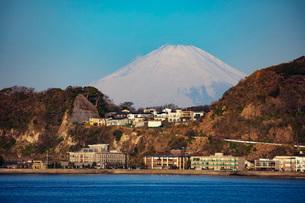 Mount Fuji, 3776m, UNESCO World Heritage Site, Kanagawa Prefecture, Honshu, Japan, Asiaの写真素材 [FYI03798756]