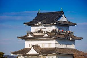 Odawara Castle, Odawara, Kanagawa Prefecture, Honshu, Japan, Asiaの写真素材 [FYI03798758]