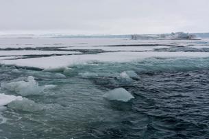Brasvellbreen, Austfonna ice cap, Nordaustlandet, Svalbard Islands, Arctic, Norway, Europeの写真素材 [FYI03798867]