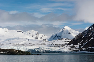 Burgerbukta, Spitsbergen, Svalbard islands, Arctic, Norway, Europeの写真素材 [FYI03798872]