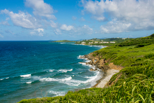 Coast of Saint Croix, US Virgin Islandsの写真素材 [FYI03799069]