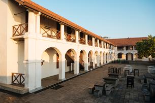 Dutch Hospital Building, Galle, South Coast, Sri Lanka, Asiaの写真素材 [FYI03799749]
