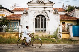 Colonial Architecture, Jaffna, Northern Province, Sri Lanka, Asiaの写真素材 [FYI03799786]