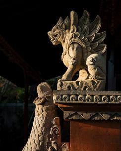 Ubud Palace, Ubud, Bali, Indonesia, Southeast Asia, Asiaの写真素材 [FYI03799819]