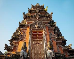 Pura Desa Ubud Water Palace, Ubud, Bali, Indonesia, Southeast Asia, Asiaの写真素材 [FYI03799822]