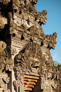 Ubud Palace, Ubud, Bali, Indonesia, Southeast Asia, Asiaの写真素材 [FYI03799823]