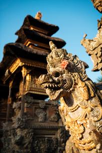 Pura Desa Ubud Water Palace, Ubud, Bali, Indonesia, Southeast Asia, Asiaの写真素材 [FYI03799824]
