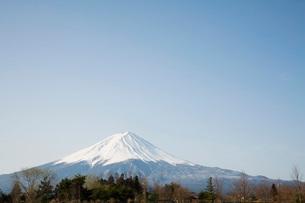 Mt. Fuji Seen From Kawaguchi Lakeの写真素材 [FYI03800682]