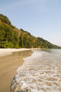 Tranquil beach sceneの写真素材 [FYI03801396]