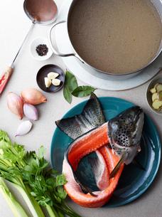Still life of hu tieu do dien, ingredients for vietnamese mealの写真素材 [FYI03802587]