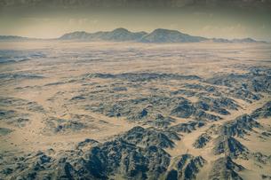 Rocky landscape, Namib Desert, Namibiaの写真素材 [FYI03804897]