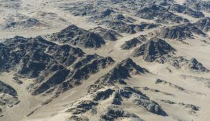 Rocky landscape, Namib Desert, Namibiaの写真素材 [FYI03804906]