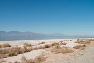Landscape view, Salton Sea, California , USAの写真素材 [FYI03804998]