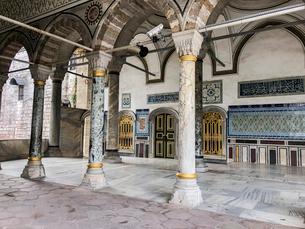 Topkapi Palace, Istanbul, Turkeyの写真素材 [FYI03807766]
