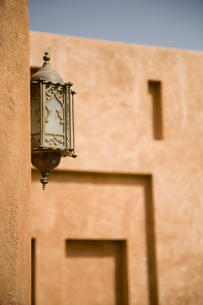 Al Ain UAE Architectural detail of Al Ain Palace Museumの写真素材 [FYI03807943]