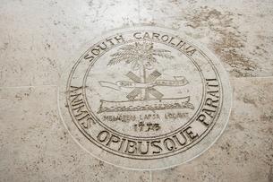 Seal of South Carolina in Fort Bonifacio, Manila, Philippinesの写真素材 [FYI03808015]