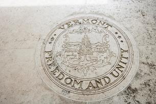Seal of Vermont in Fort Bonifacio, Manila, Philippinesの写真素材 [FYI03808018]