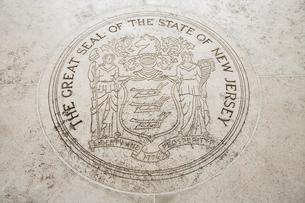 Seal of New Jersey in Fort Bonifacio, Manila, Philippinesの写真素材 [FYI03808022]